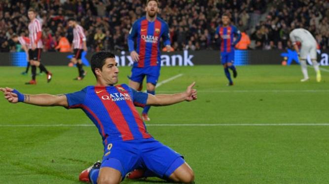 Del primero al último, mirá los cien goles de Suárez con el Barcelona