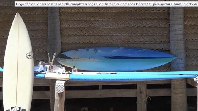 """""""El arte y el surf es una fusión natural"""""""
