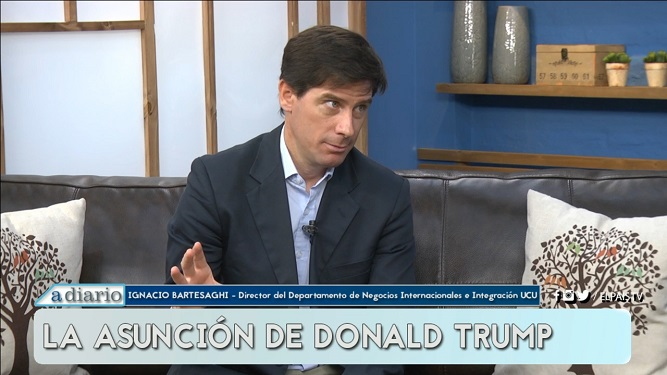 Lo que más le preocupa a Ignacio Bartesaghi sobre Donald Trump