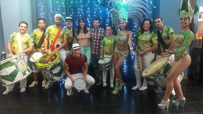La mejor Escola de Samba estuvo en TV Show