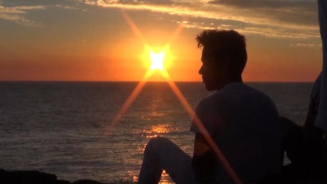 Una meditación por la paz en Punta Ballena