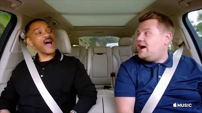 Apple tendrá su carpool karaoke. Mirá a todos los famosos que participarán