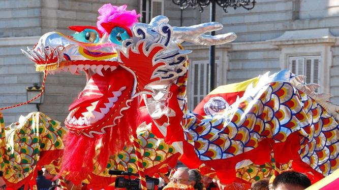La fiesta de Año Nuevo Chino