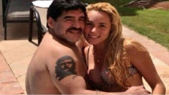 Pelea a los gritos entre Maradona y Rocío Oliva