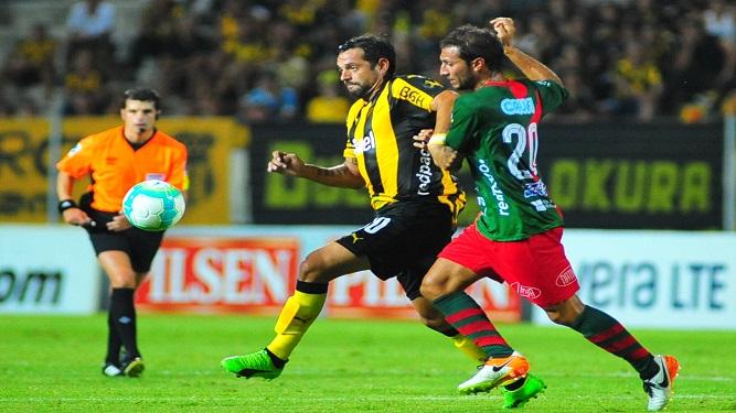 """""""Por como me lo inculcaron, disfruto jugar contra Peñarol"""""""