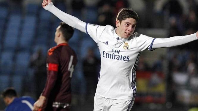 """Valverde va pasar al Primero del Real Madrid"""