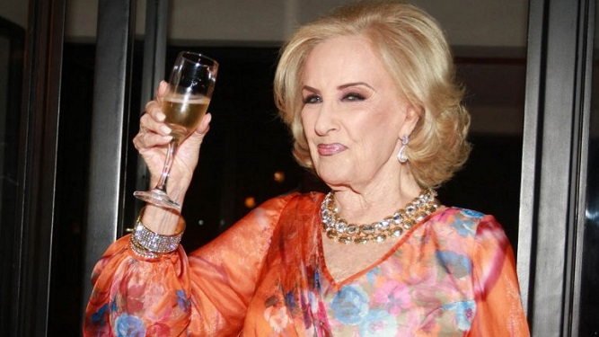 ¡Mirtha Legrand cumple 90 años!