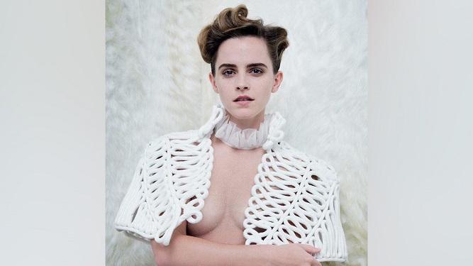 Emma Watson respondió a quienes la acusaron de hipócrita por hacer topless