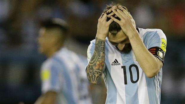 ¿Argentina va al Mundial sin Messi?